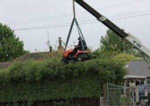 The Crane Mower