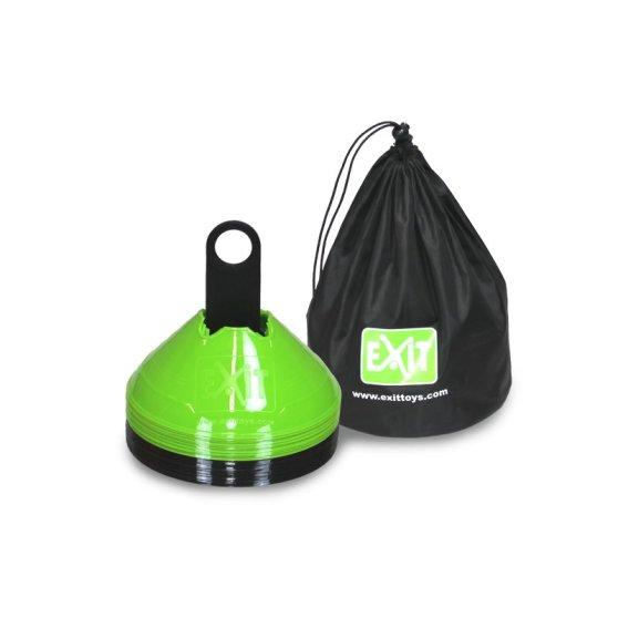 exit-marker-cones-20-pieces-green-black