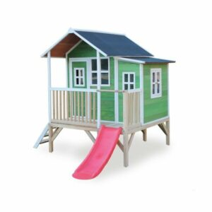 exit-loft-350-wooden-playhouse-green