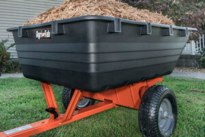 2 Must-Have Garden Trailers For Garden Maintenance