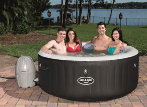 the lay-z-spa miami hot tub