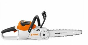 The stihl battery powered chainsaw