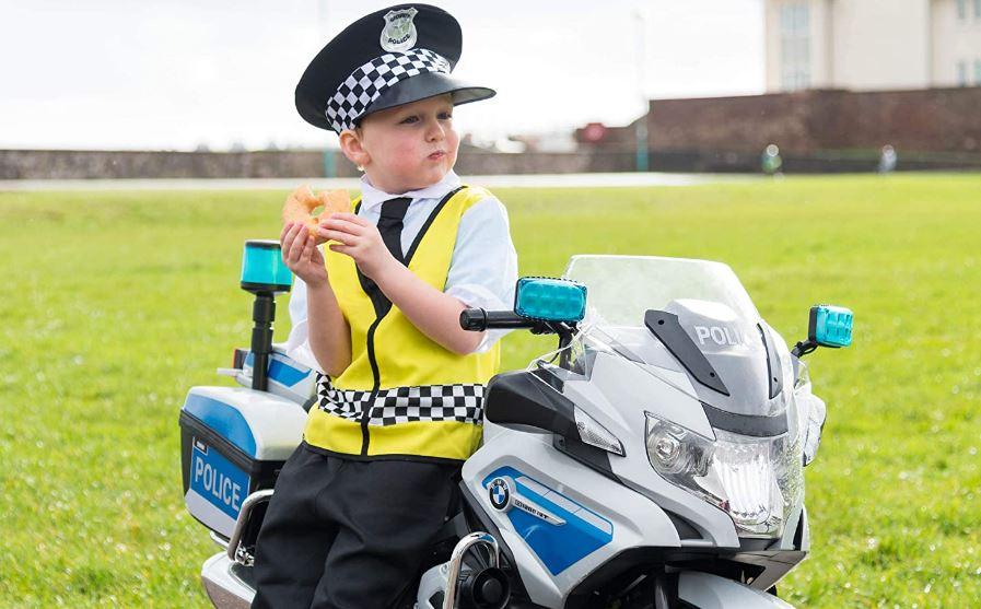Kids Electric Police Bike